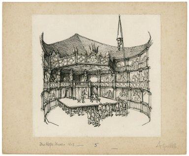 Interior of the Hope Theatre