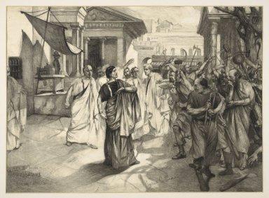 Coriolanus at the Lyceum [graphic] / Cyrus C. Cuneo.