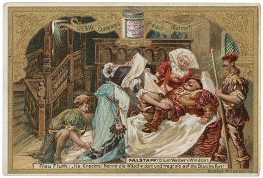 Falstaff [graphic] / Liebig Company's Fleisch-Extract.