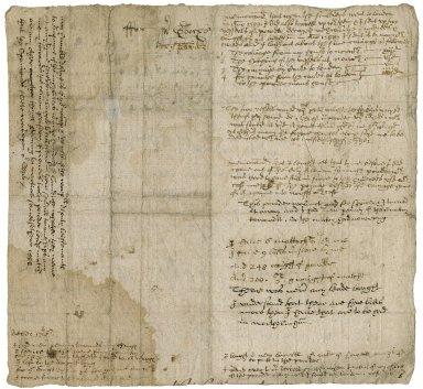 Affadavit of William Thurleby concerning Mr. Gooch