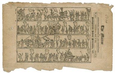 Shakspearian Jubilee Procession, 1827 [graphic].
