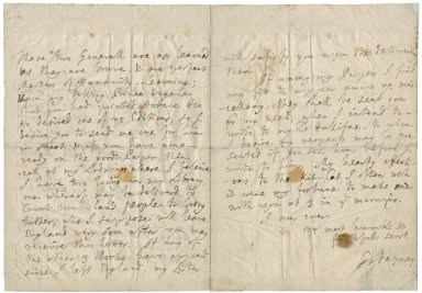 Letter from George Stepney, Vienna, to Jacob Tonson I : autograph manuscript signed