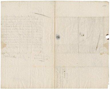 Letter from General John Desborough, Spring Garden, to Colonel Robert Bennet, Cornwall