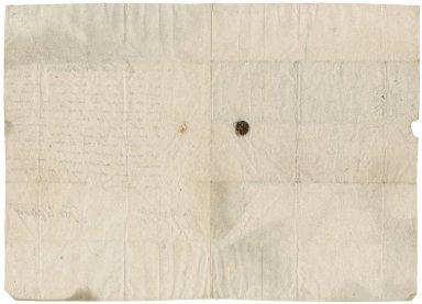 Letter from Margaret Drummond, Lady Maderty to Patrick Rattray of Craighall, Perth