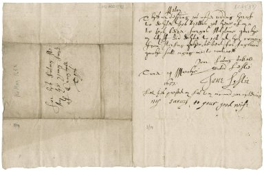 Letter from Lord Newark to Patrick Rattray of Craighall, Tower of London