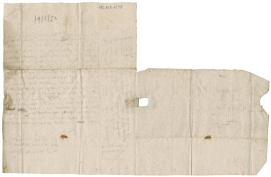 Letter from Sylvester Rattray to Patrick Rattray of Craighall, Coupar