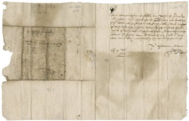 Letter from Alexander Leslie to Patrick Rattray of Craighall, Edinburgh