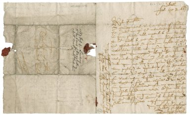 Letter from John Lindsay of Edzell to Patrick Rattray of Craighall, Edzell