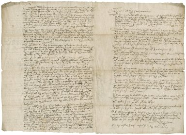 Copy of letter from Thomas Norton, Sharpenhoe, Bedfordshire, to Francis Mylles, 1581 August 31