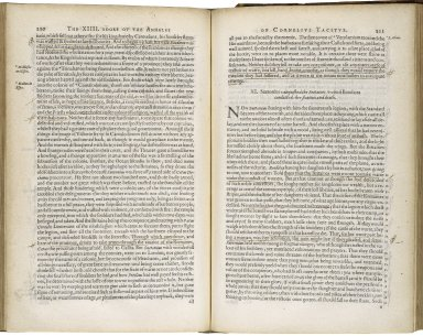 [Annales. English] The annales of Cornelius Tacitus. The description of Germanie.