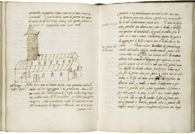 Account of Alessandro Magno's journeys to Cyprus, Egypt, Spain, England, Flanders, Germany and Brescia [manuscript], 1557-1565.