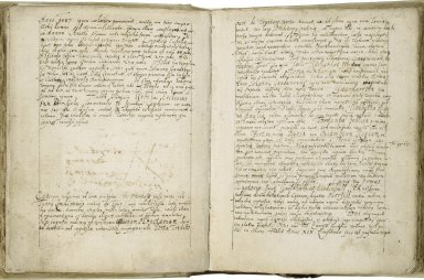 Diary of George von Schwartzstät, Freiherr von Offenbach's travels in the Netherlands, England, France and Germany, kept by his companion [manuscript], 1609.