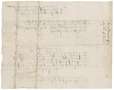 Acworth, Thomas Bill for stuffs delivered to Sir Thomas Cawarden.