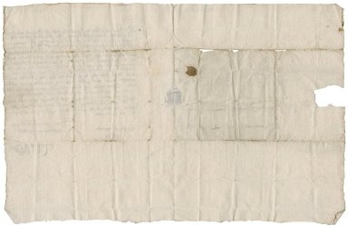 Letter from Patrick Lyon, 3rd Earl of Kinghorne to David Rattray of Craighall, Edinburgh