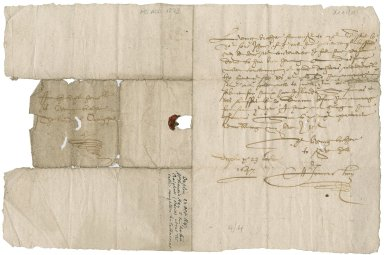 Letter from Francis Hay to David Rattray of Craighall, Dupplin
