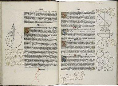 [Elements. Latin] Preclarissimus liber elementorum Euclidis perspicacissimi, in artem geometrie incipit qua[m]foelicissime.