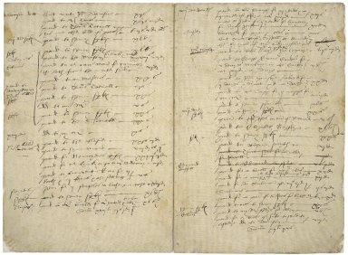 More, Sir William. Account book,