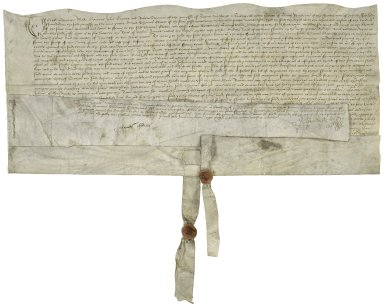 Lease from St. Margaret's Parish, Southwark to Thomas Glover, waterman [manuscript], 1537 January 21.