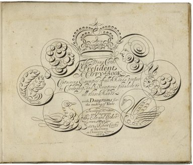 The compleat writing master : a copy book, furnished with all the most usefull hands now practised by the best artists in London