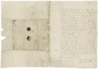 More, Sir Poynings. Letter. To Sir George More. Meaux en Brie.