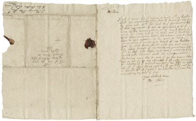 More, Sir Poynings. 1606-1649. Letter. To Lady Frances More. London.