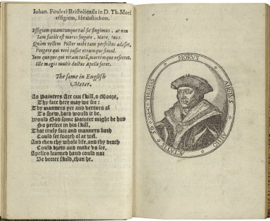 A dialogue of cumfort against tribulation, made by the right vertuous, wise and learned man, Sir Thomas More, sometime L. Chanceller of England, which he wrote in the Tower of London, An. 1534