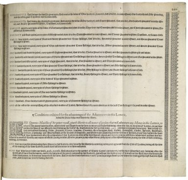 [Proceedings. 1567] A very rich lotterie generall, without any blanckes, contayning a great number of good prices, aswel of redy money as of plate and certaine sorts of marchaundizes, hauing bene valued and priced by the commaundement of the Queenes most excellent Maiestie, by men expert and skilfull