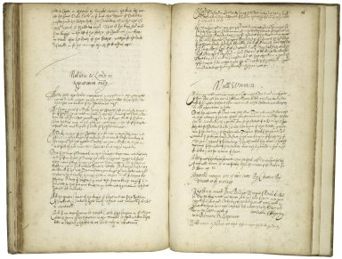 [Treatise concerning the nobility according to the law of England] Copy of A treatise concerning the nobility according to the law of England, ca. 1600 [manuscript], ca. 1610.