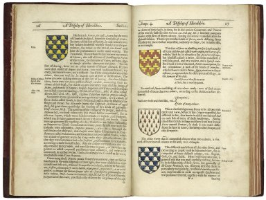 A display of heraldrie: manifesting a more easie accesse to the knowledge thereof than hath beene hitherto published by any, through the benefit of method; whereinto it is now reduced by the study and industry of Iohn Guillim, late Pursuivant of Armes.