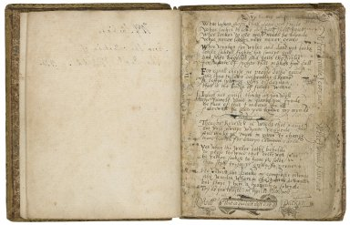 Poetical and prose miscellany [manuscript], ca. 1580-1800.
