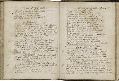 Poetical miscellany [manuscript], ca. 1630.