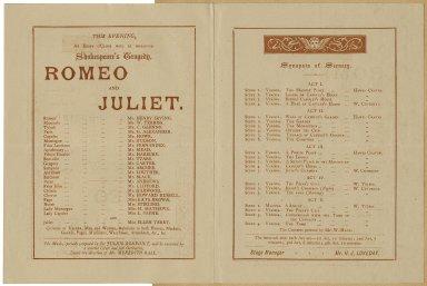 Romeo and Juliet program
