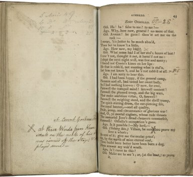 Othello, the Moor of Venice, a tragedy, revised by J. P. Kemble; and now first published as it is acted at the Theatre Royal in Covent Garden.