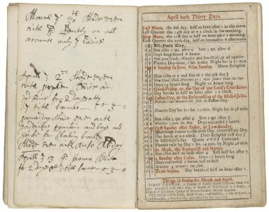 The ladies diary: or, the womens almanack, for the year of our Lord, 1707. Being the third year-after the leap-year. Containing many delightful and entertaining particulars, peculiarly adapted for the use and diversion of the fair-sex. Being the fourth almanack ever publish'd of that kind.