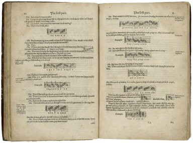 A plaine and easie introduction to practicall musicke, set downe in forme of a dialogue ...