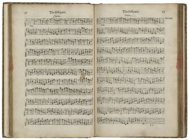 A plaine and easie introduction to practicall musicke, set downe in forme of a dialogue: deuided into three partes, the first teacheth to sing with all things necessary for the knowledge of pricktsong…