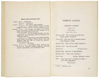 Macbeth / Tõlkinud Ants Oras.