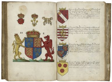 An English baronage [manuscript], 1572.