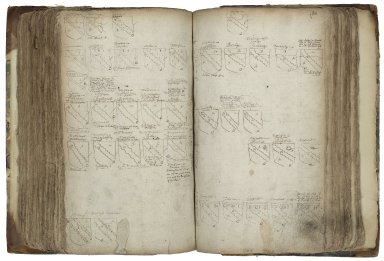 Ordinary of arms [manuscript], ca. 1604.