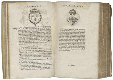 Alliances genealogiques des rois et princes de Gaule / par Claude Paradin.