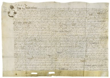 Feoffment to uses from Stephen Halford, the elder, to trustees for his younger son, Stephen Halford [manuscript], 1664 November 1.