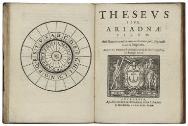 Grammatica angelorum mysticorum, siue, Labyrinthus cryptographicus ... / authore Fr. Emmanuele Rodriguez Ordi Erem. S. Augustini, S. Theologiae Baccal.