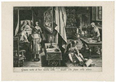 Hyacum, et lues venerea [graphic] / Ioan. Stradanus inuent.