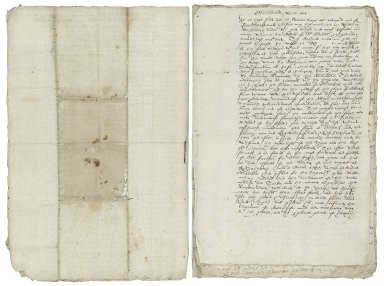 Copy of Newsletter of events in Holland, November 27, 1602 [manuscript], 17th century?