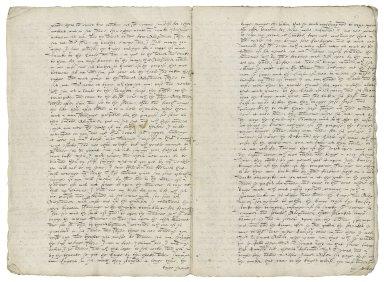 Copy of Newsletter from Edinburgh, August 11, 1600 [manuscript], 17th century?