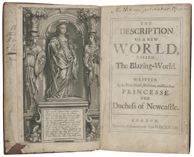The description of a new world, called the blazing-world. : Written by the thrice noble, illustrious, and excellent princesse, the Duchess of Newcastle.