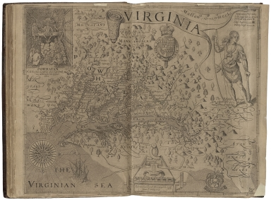 The generall historie of Virginia, New-England, and the Summer Isles: with the names of the adventurers, planters, and governours from their first beginning. an�: 1584. to this present 1624. With the procedings of those severall colonies and the accidents