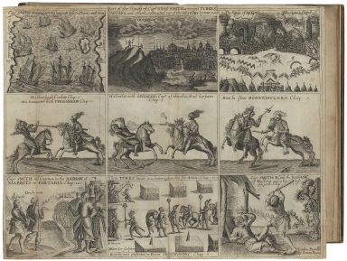 The true travels, adventures, and observations of Captaine Iohn Smith, in Europe, Asia, Affrica, and America, from anno Domini 1593. to 1629. His accidents and sea-fights in the straights; his service and stratagems of warre in Hungaria, Transilvania, Wal