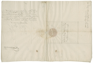 Letter signed from Philip III, King of Spain, to Archduke Albert, Governor of the Netherlands