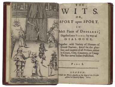 Wits. Part 1. The wits, or, Sport upon sport.
